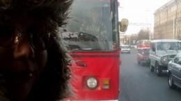 В маршрутном такси