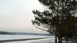 Иртыш под снегом.