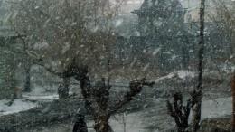 Люблю я снег среди апреля!