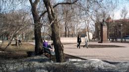 Сквер у памятника генералу Карбышеву
