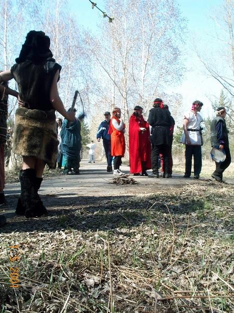 Местные толкиенисты собрались на свои очередные игрища