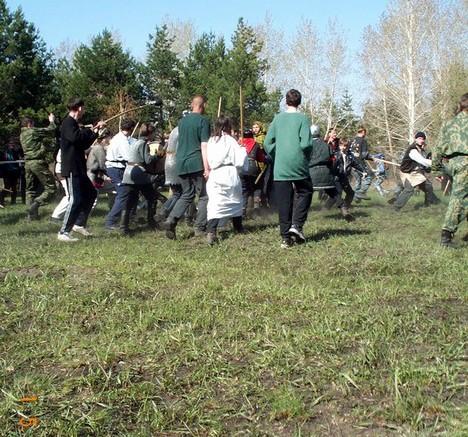 Боевые схватки омских толкинистов