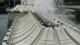 В такую погоду нам нужен фонтан