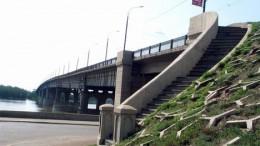 Мост слева