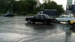 """Черная """"Волга"""" - эмблема печали"""