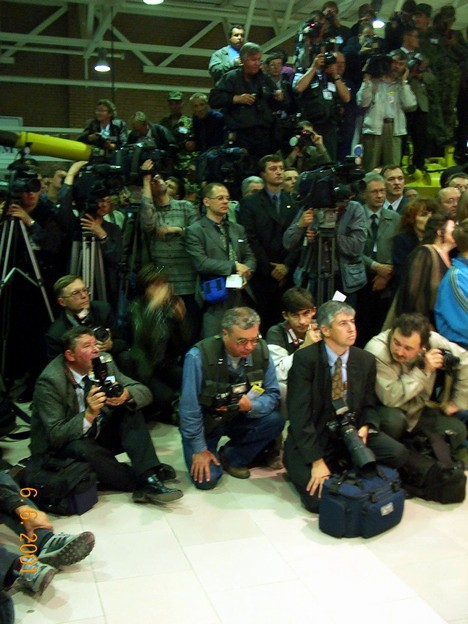 Танки журналистов не боятся