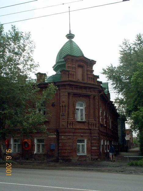 Старый омский дом