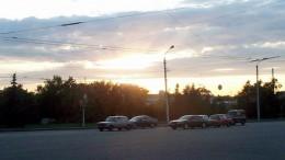 Закат над Омском