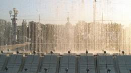 И фонтан стоит...