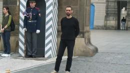 Виктор Корб в Праге