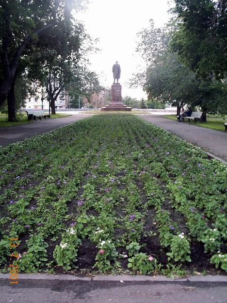 Дорога от Ленина к храму