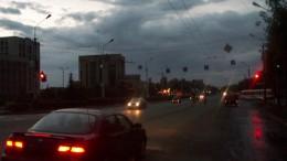 Ночной Омск