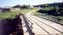 Мост через реку Верхняя Тунгуска