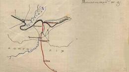 План соединения Сибирской железной дороги с Калган - Ургимской (на Пекин)