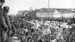 Похороны жертв белогвардейцев