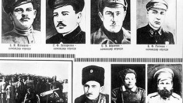 Руководители партизанских отрядов