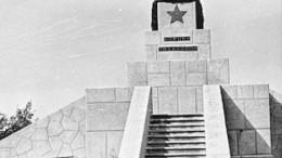 Памятник в Кировске (г.Омск)