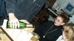 Шампанское лилось рекой!