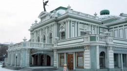 Драмтеатр зимой
