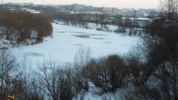 Омь зимой