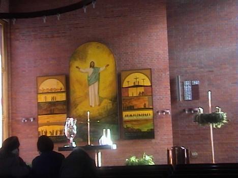 Лютеранская церковь Христа.