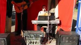 Музыкальная палатка