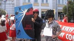 Шествие  на Любинском проспекте...