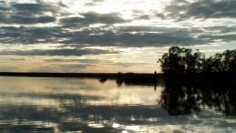 Закат на озере Круглом - 3