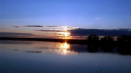 Закат на озере Круглом - 4
