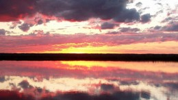 Закат на озере Круглом - 5