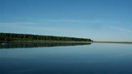 Рассвет на озере Круглом
