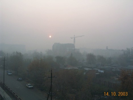Красное солнце Сибири