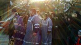 Демонстрация верующих