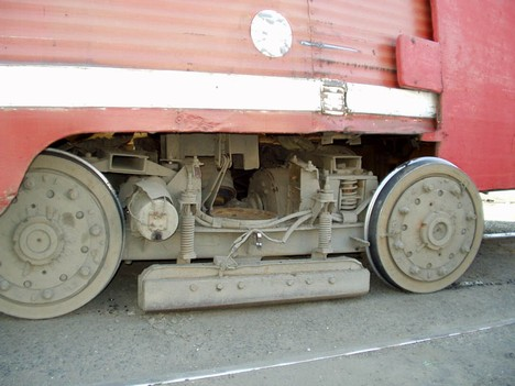 Трамвайная тележка