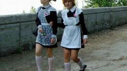 Форменные школьницы