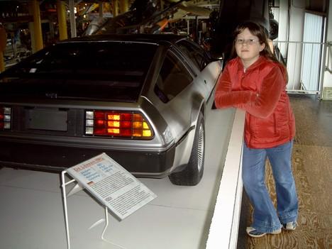 Знаменитый DeLorean