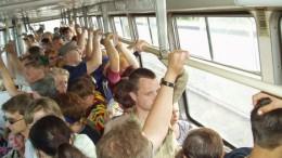 Аншлаг в трамвае
