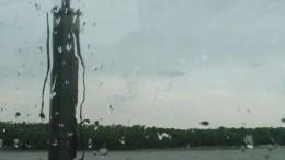 Летняя гроза на берегу Иртыша