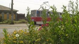 Трамвай на Орджоникидзе