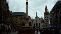 Мюнхен. Ратушная площадь.