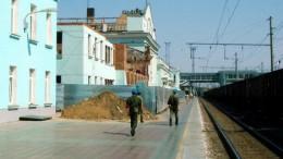 Омский вокзал без крыши
