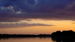 Закат на Иртыше