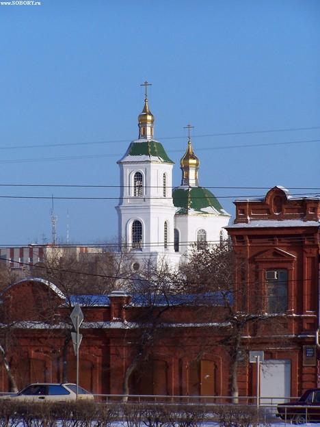 Крестовоздвиженский собор в Омске