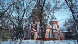 Скорбященская церковь в Омске