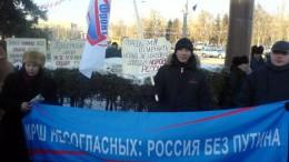 Митинг КПРФ 21 февраля. Марш несогласных