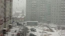 Мартовские метели и снегопады