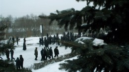 Митинг маршруточников 25.02.06. Последний заградительный рубеж