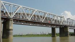 Железнодорожный мост через Иртыш