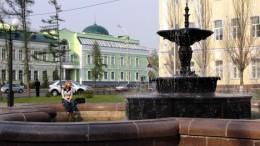 фонтан на Тарской