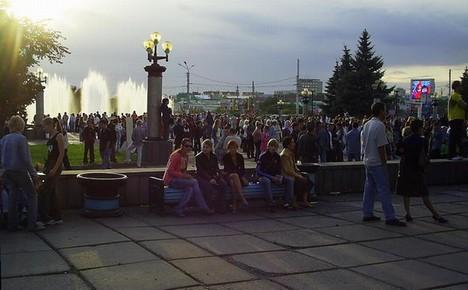 Гуляние по Театральной площади